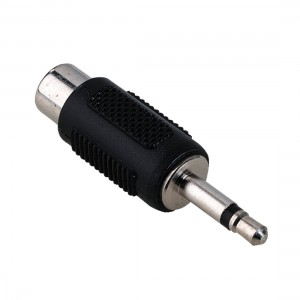 Adapter Cinch GN. - Jack 3,5mm mono WT.