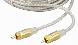 Kabel 1 RCA - 1,5m. Gold24k OFC 2xEkran HQ THOMSON